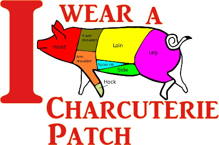 I wear a Charcuterie Patch