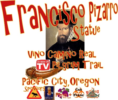 Francisco Pizarro Statue Pacific City Oregon