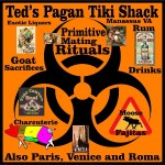 Ted's Tiki Shak Charcuterie Goat Sacrifices Rum Drinks Moose Fajitas