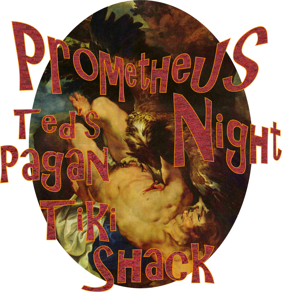 Prometheus Night Ted's Pagan Tiki Shack Enoteca Cave Bar Virginia