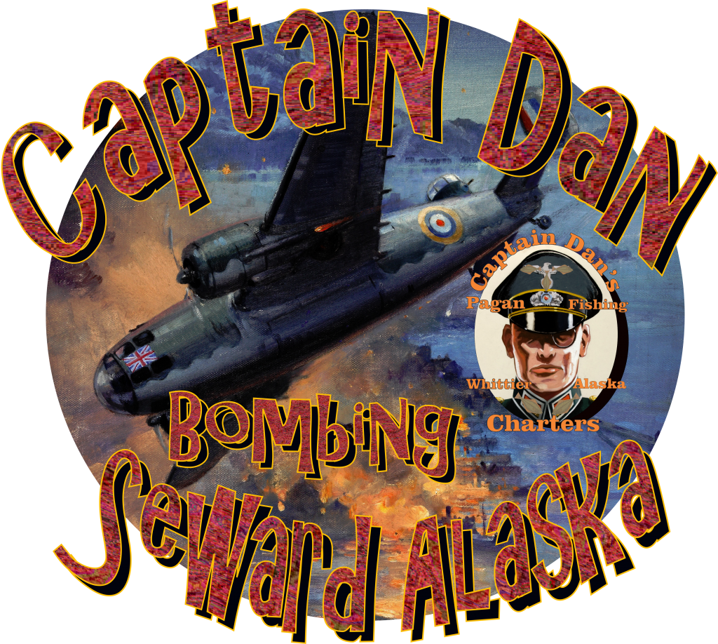 Captain Dan bombs Seward Alaska during the Halibut Wars Whittier Alaska AK