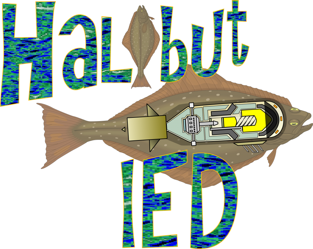 halibut IED Improvised Halibut Explosive Device Alaska Fishing Charters