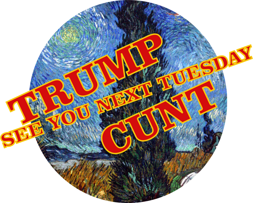TRUMP POTUS becomes SCROTUS in ACRONYM Change SCROTUM