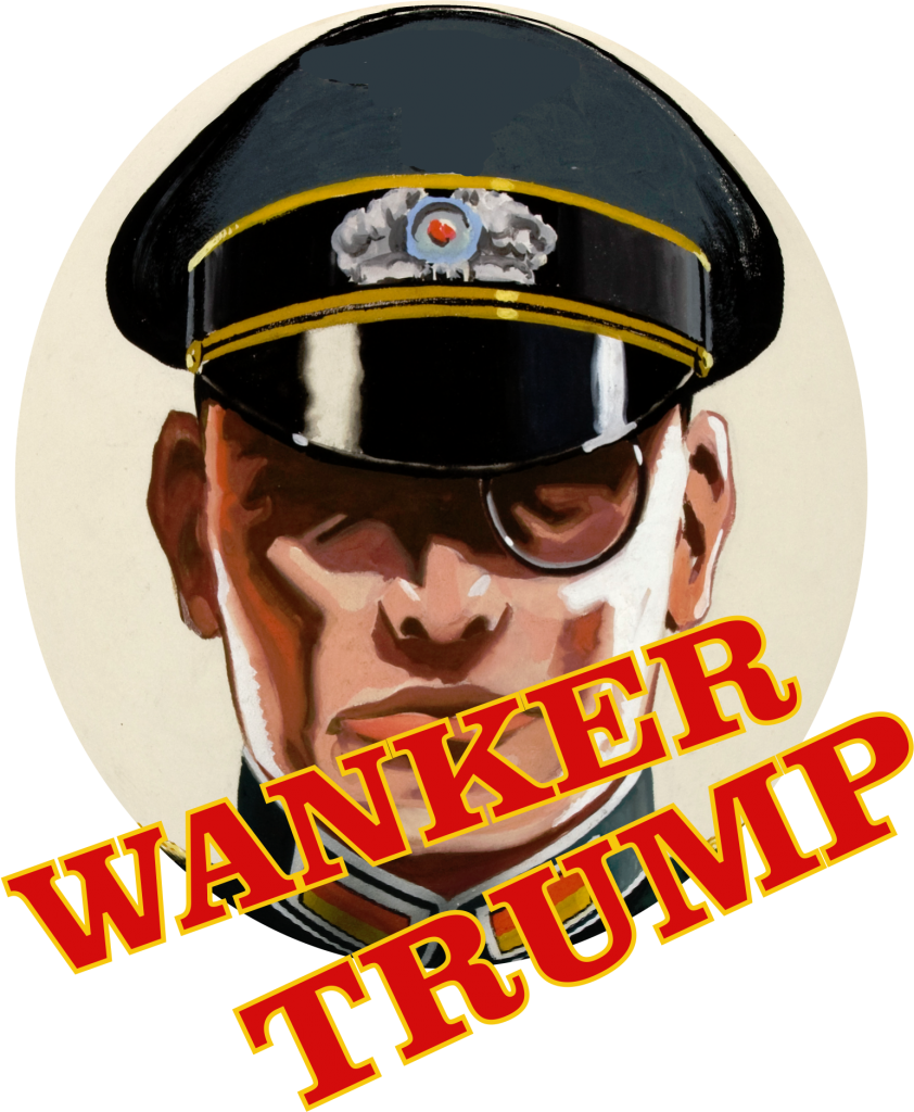 Trump is German for Pimp Scrotum Wanker