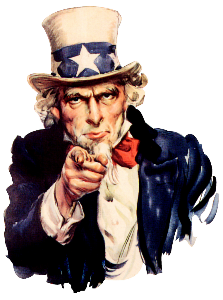 Uncle Sam says Trump is a Fucking Wanker