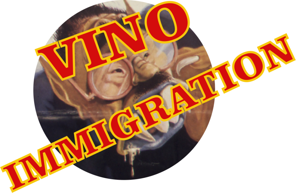 VINO JIHAD AMADOR CALIFORNIA WINE IMMIGRATION