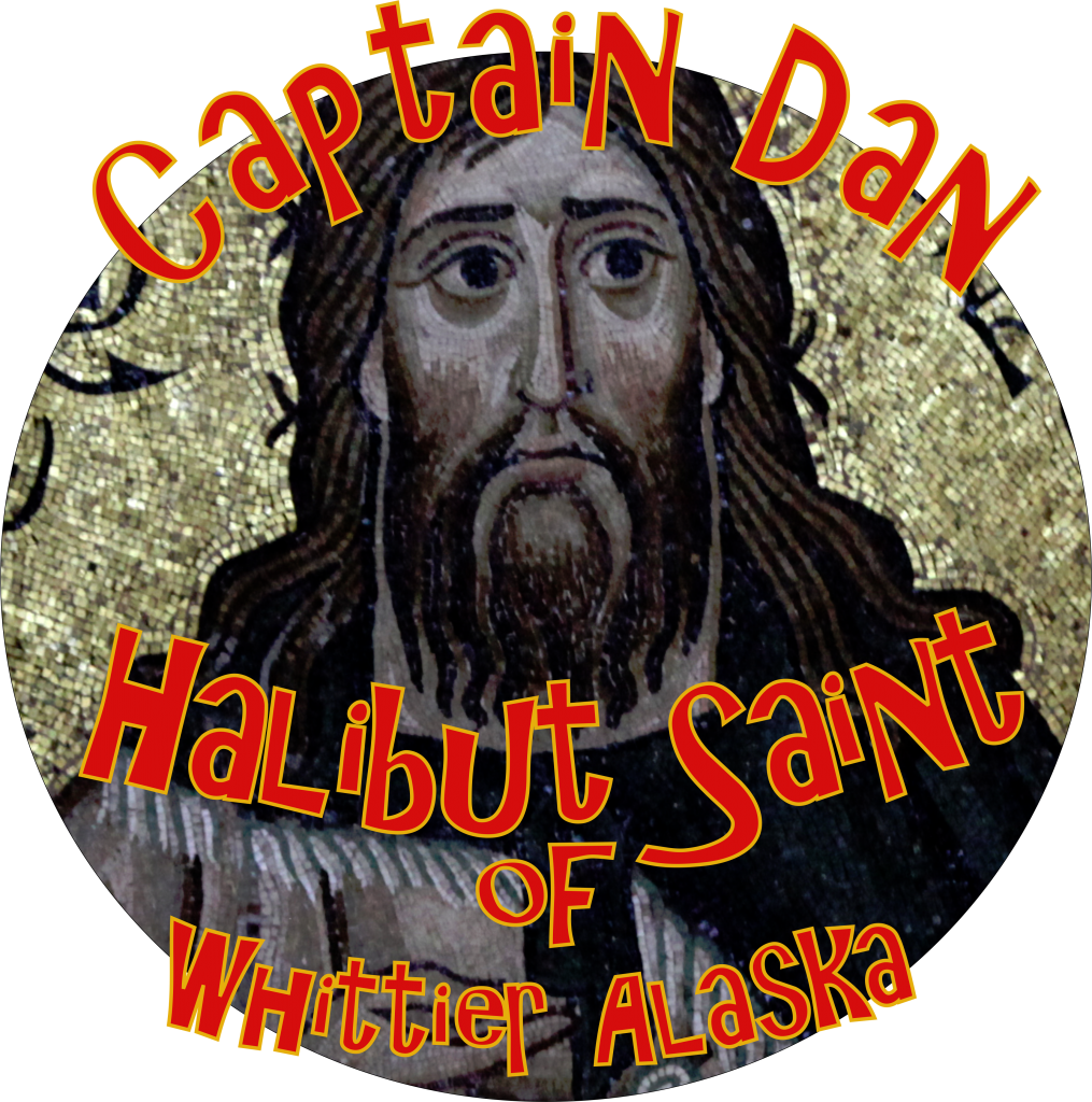 captain dan halibut saint of whittier alaska